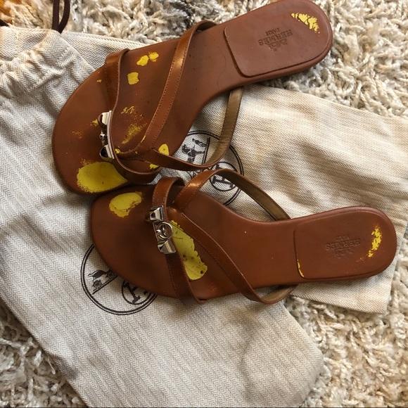 d894abeadac783 Hermes Shoes - Authentic Hermes Corfou Sandals